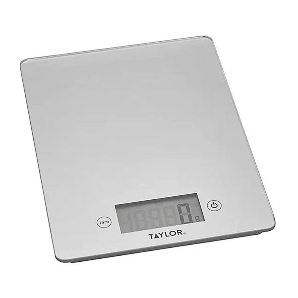Kitchen Craft Taylor Pro Glass 5KG Digital Scale -Silver