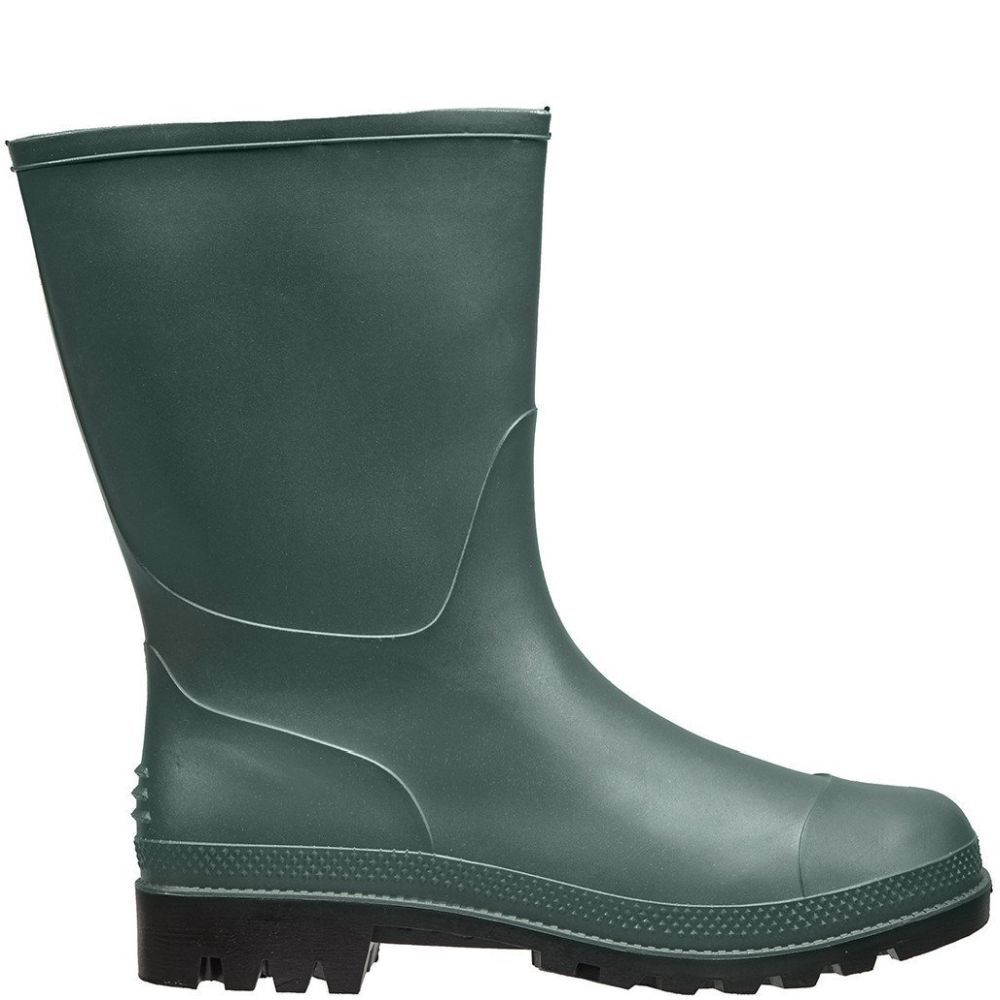 Briers Green Traditional Short Wellington Boots - Size 9