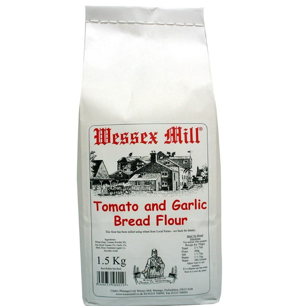 Wessex Mill 1.5kg Tomato And Garlic Flour