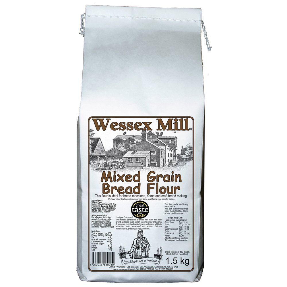 Wessex Mill 1.5kg Mixed Grain Bread Flour