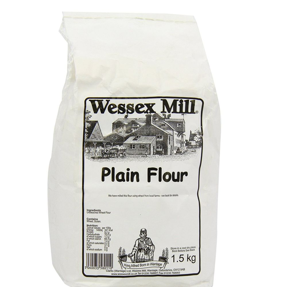 Wessex Mill 1.5kg Plain White Flour