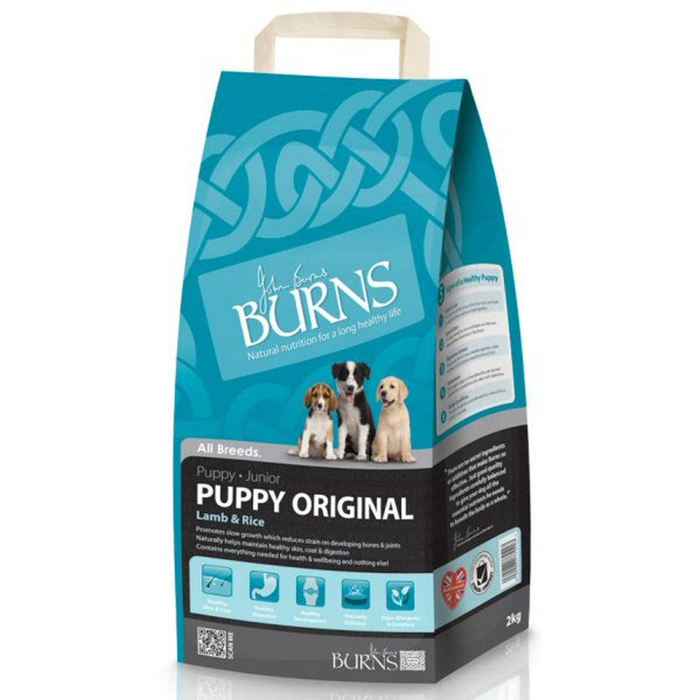 Burns 2kg Original Lamb & Rice Puppy Dog Food