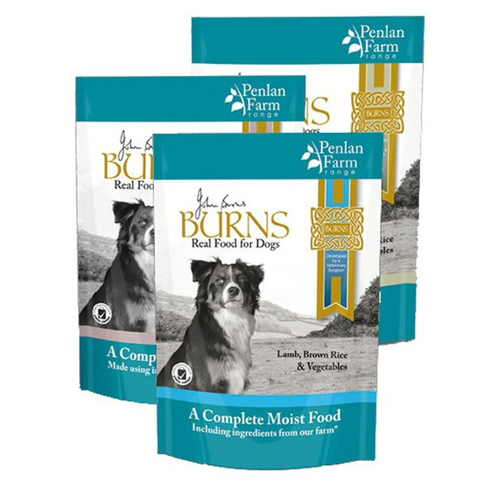Burns 400g Penlan Farm Pouch Dog Food Compete Multi Pack