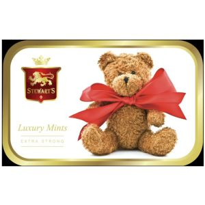 Stewarts 40g Mints in Teddy Bear Tin