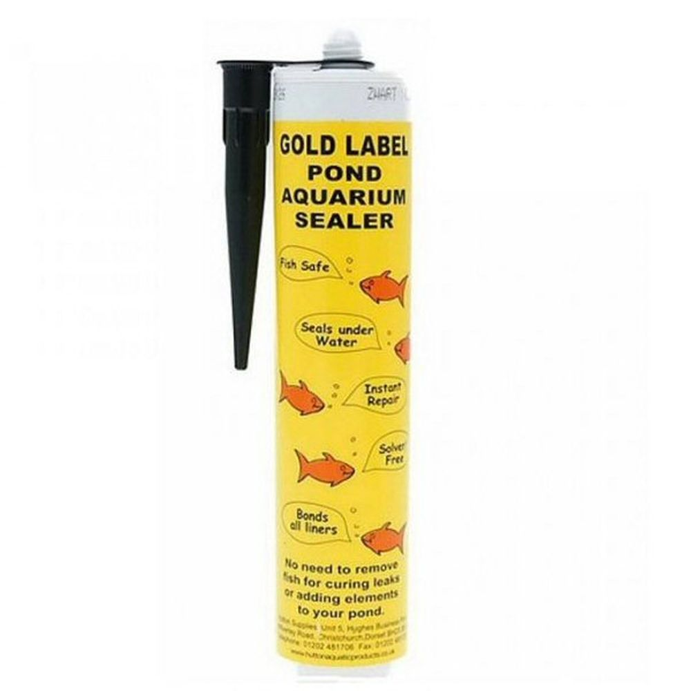 Gold Label 290ml Black Underwater Pond Sealant