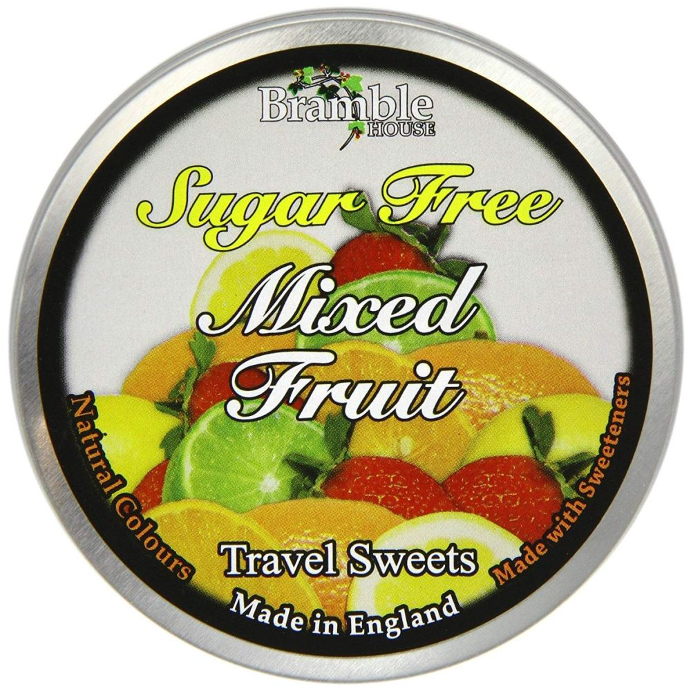 Bramble House Sugar Free Mixed Fruit Travel Sweets