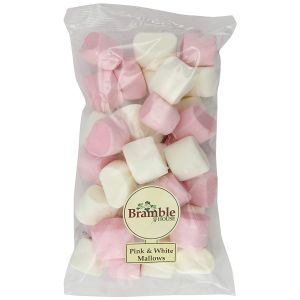 Bramble House 210g Pink and White Marshmallows