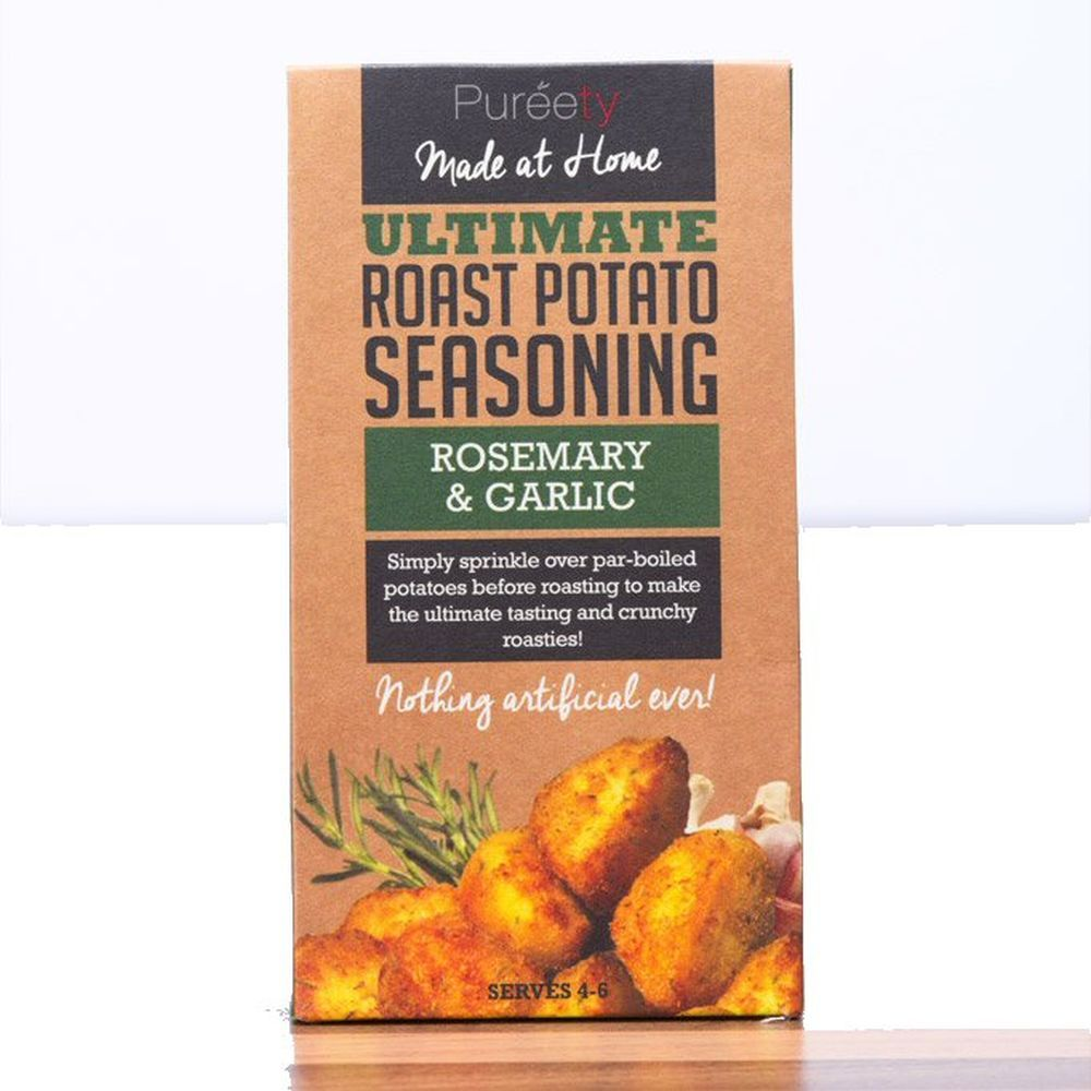 Pureety Gourmet 40g Rosemary & Garlic Potato Seasoning