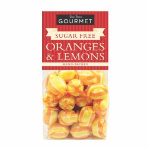 Bon Bons 160g Gourmet Sugar Free Oranges & Lemons Bag