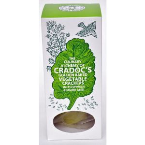 Cradoc's 80g Spinach & Celery Vegetable Crackers