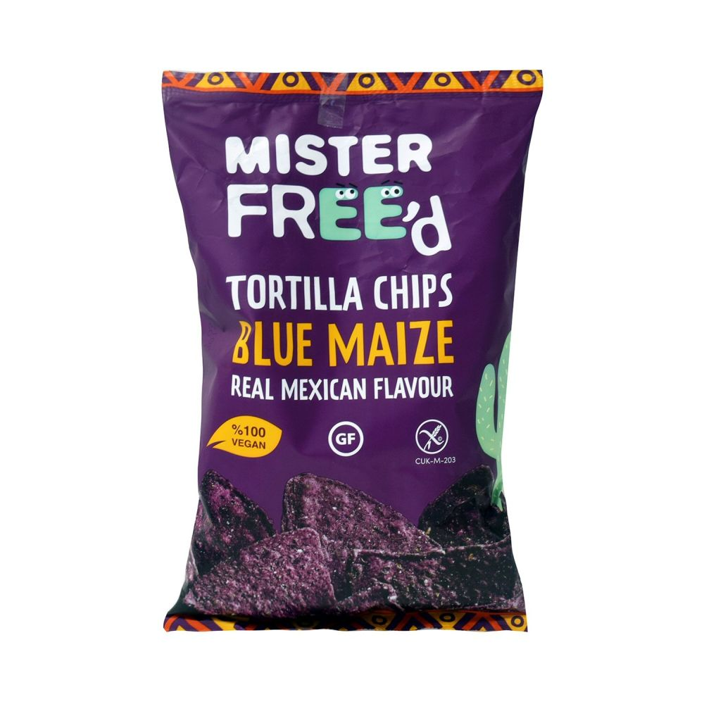 Mister Free'd 135g Tortilla Chips with Blue Maize