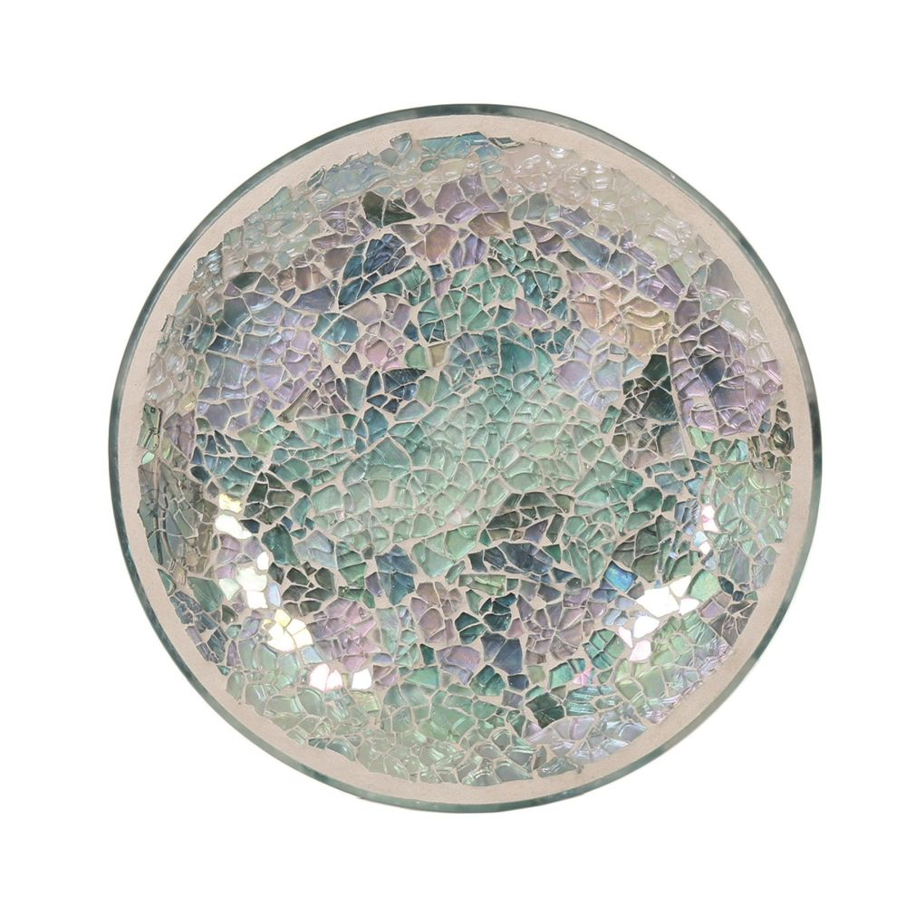 Aromatize Candle Plate - Blue Crackle