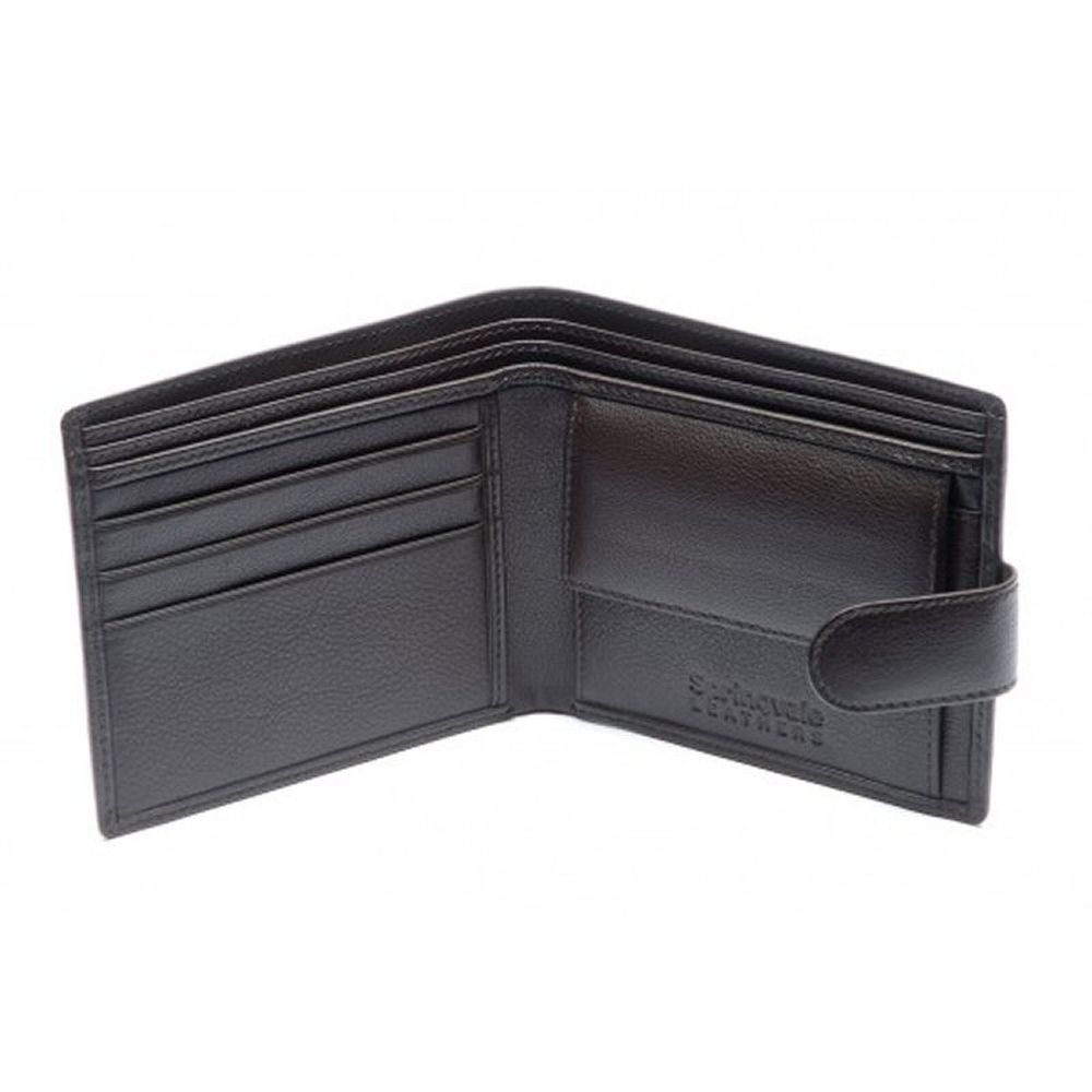Charles Smith Springvale Leather Wallet - Black