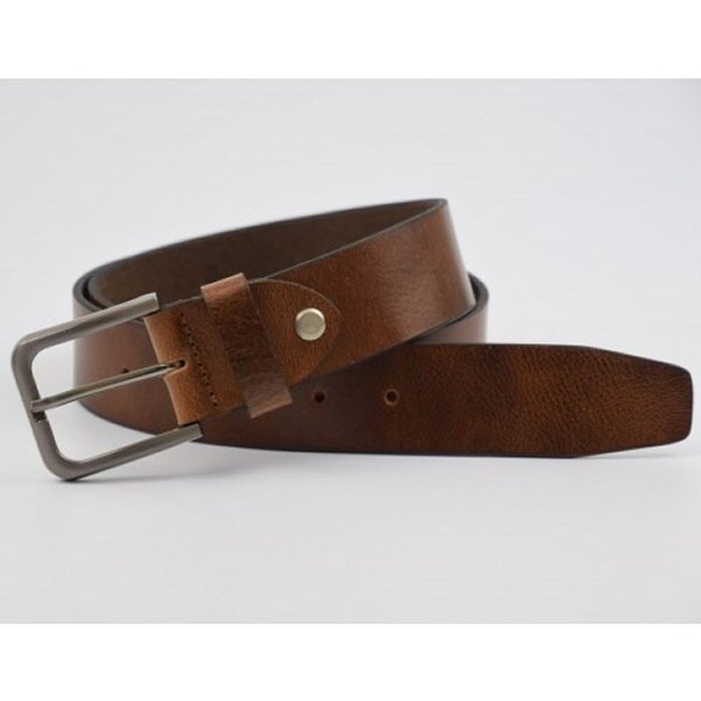 Charles Smith 40mm Leather Belt Brown