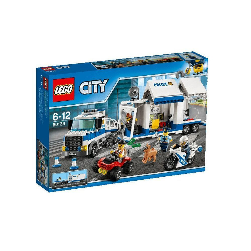 The Lego Group City Mobile Command Center - Lego - Old