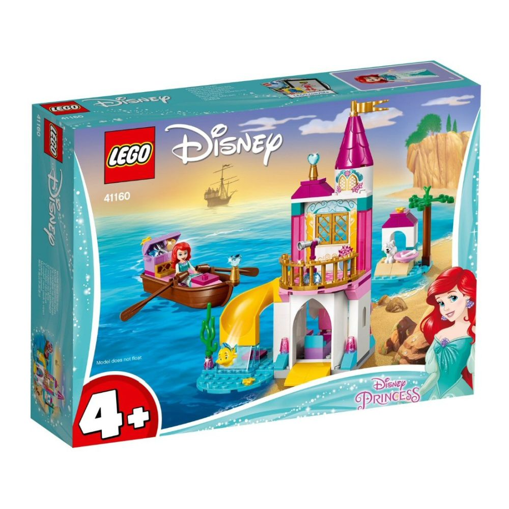 The Lego Group Disney Ariels Seaside Castle Lego Old Railway