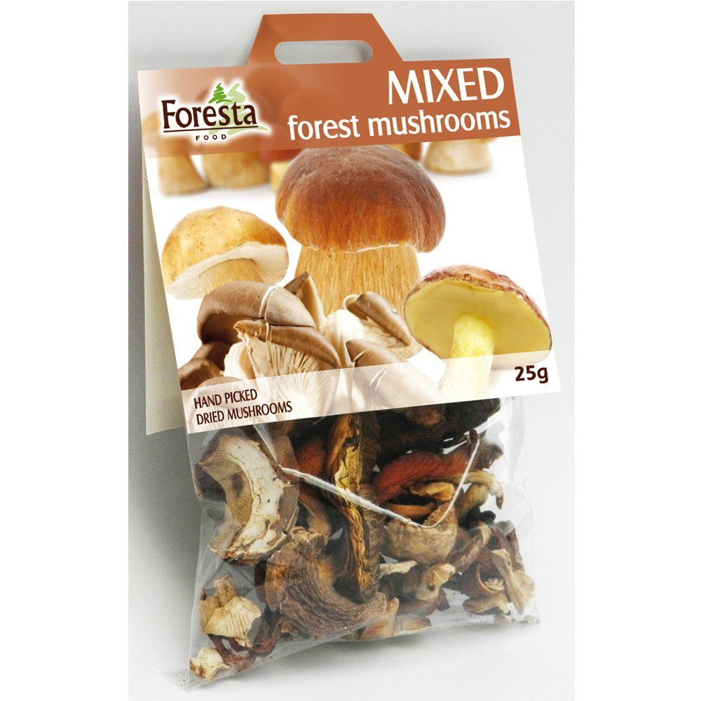 Foresta 25g Dried Mixed Forest Mushrooms