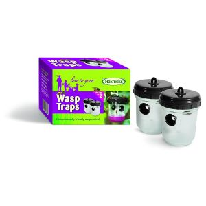 Haxnicks Pack of 2 13.5cm Wasp Trap