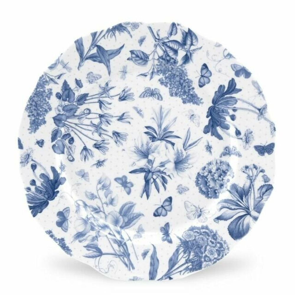 "Portmeirion Botanic Blue 10.75"" Dinner Plate"