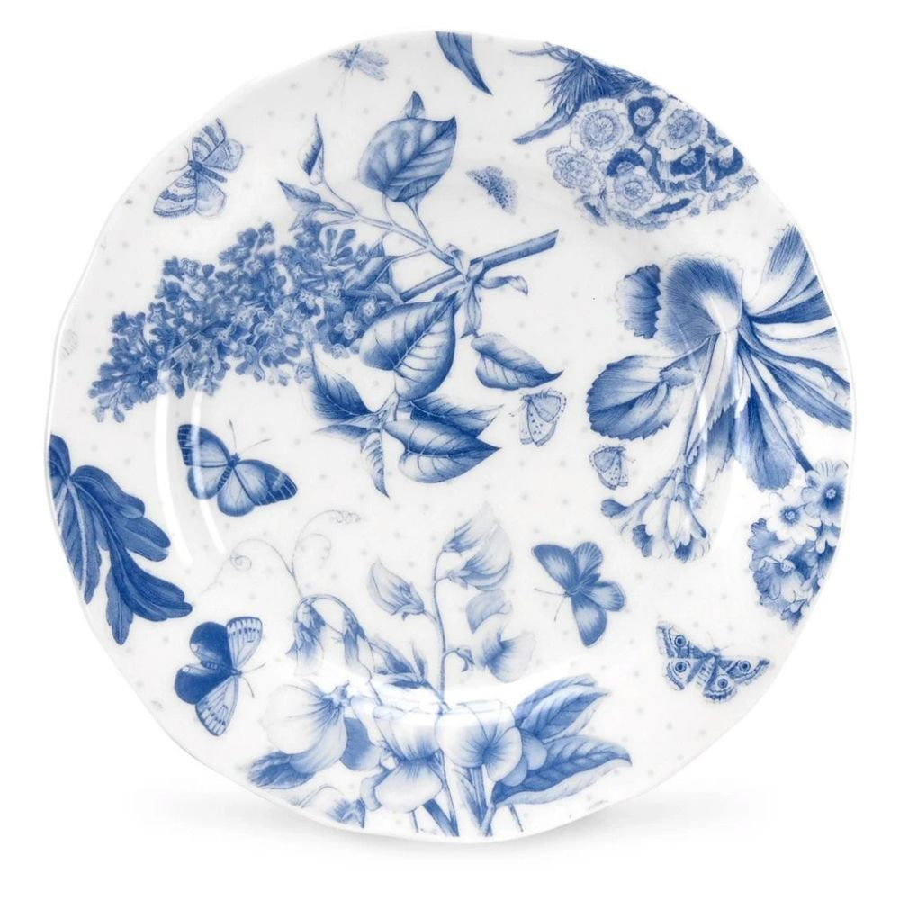 "Portmeirion Botanic Blue 6"" Tea Plate"