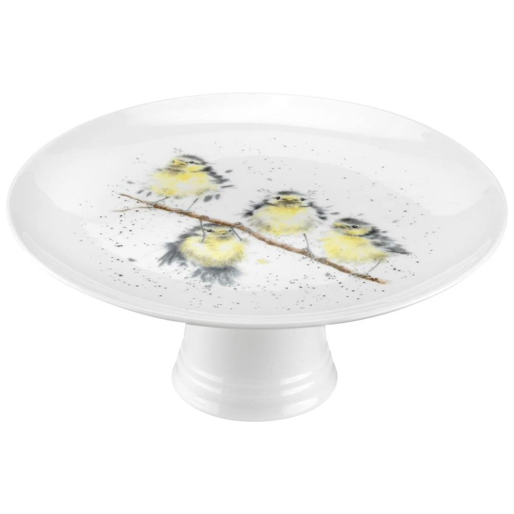 Royal Worcester Wrendale Birds Footed Cake Stand