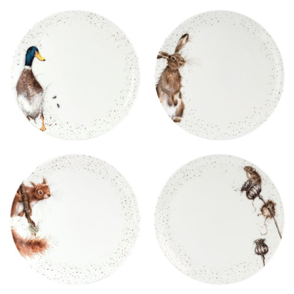 Royal Worcester Wrendale Designs 10.5 Inch Coupe Plates (Choice of 4)