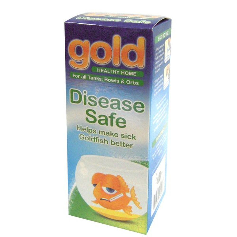 Interpet 100ml Gold Disease Safe Aquarium Treatment