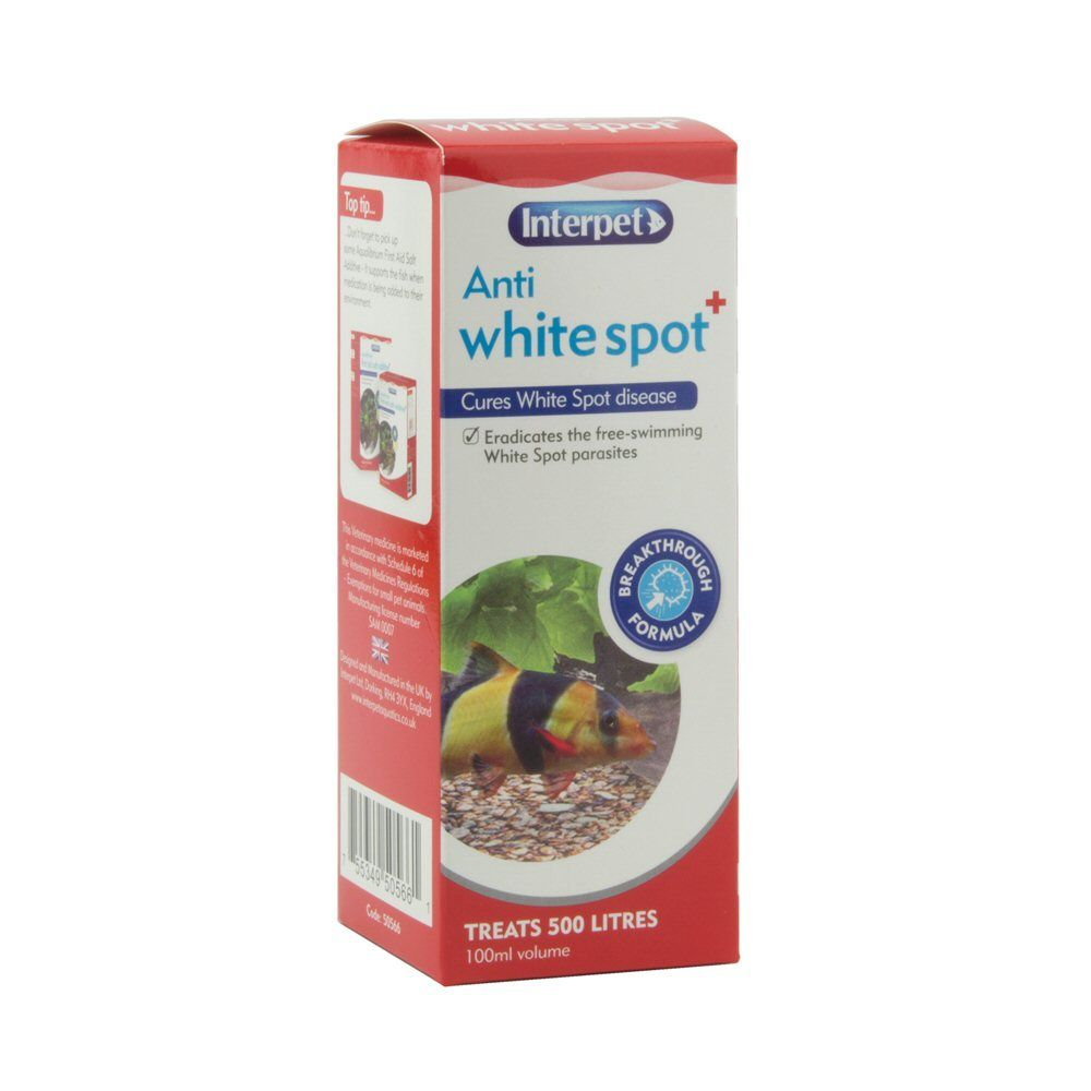 Interpet 100ml Anti Whitespot Plus - RC201