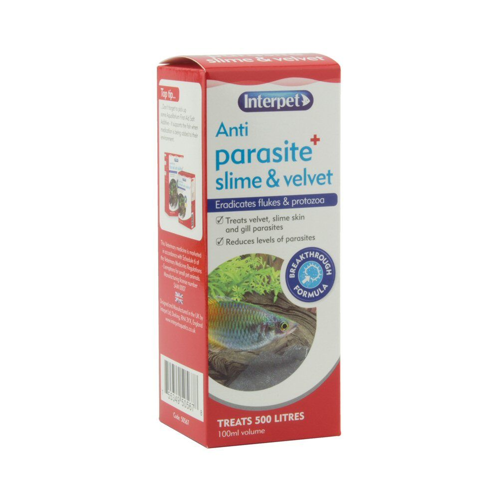 Interpet 100ml Anti Parasite Plus - RC202