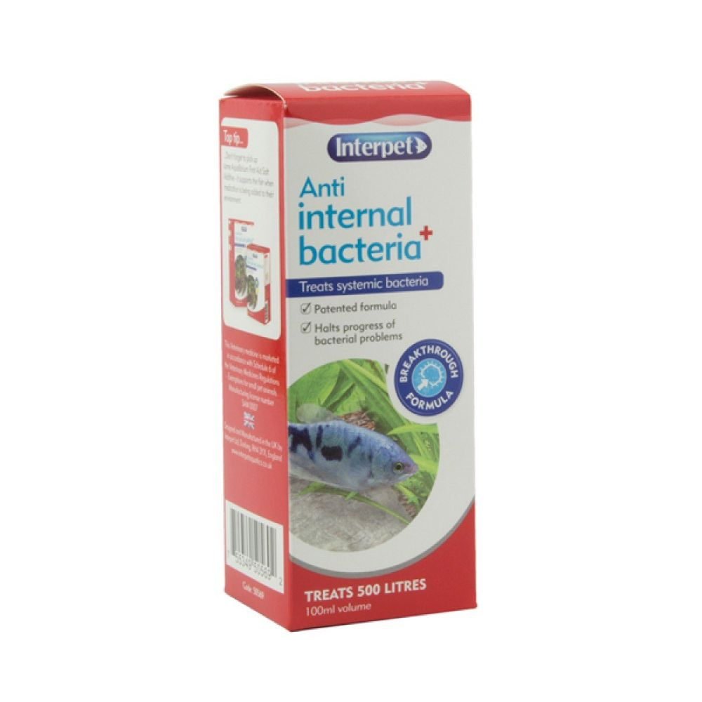 Interpet 100ml Anti Internal Bacteria Plus - RC211