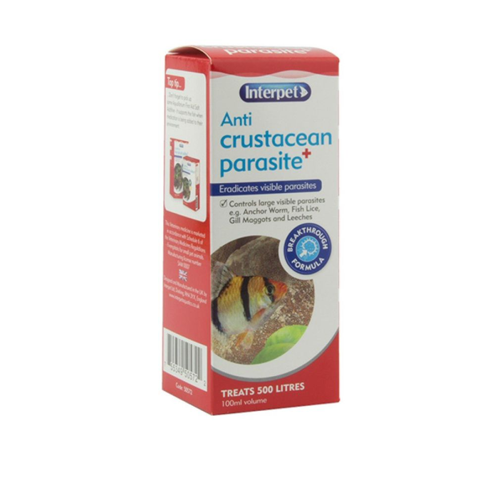 Interpet 100ml Anti Crustean Parasite - RC212