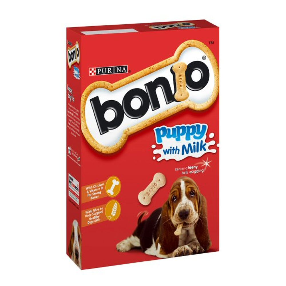 Bonio 350g Puppy Milk Biscuits