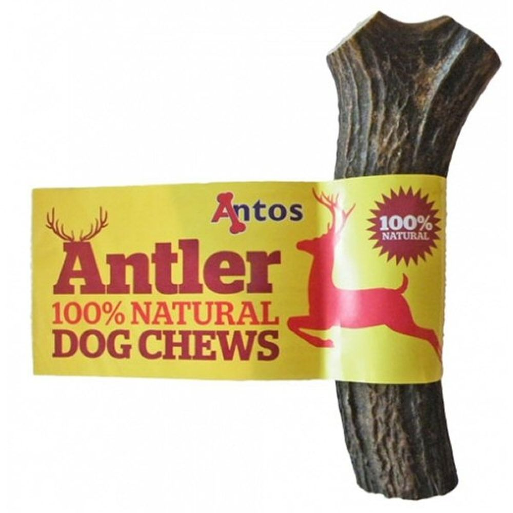 Antos 151 - 220g Large Antler Dog Chew Treat