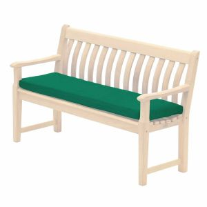 Alexander Rose 5ft Green Polyester Bench Cushion - 579G
