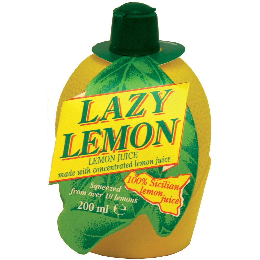 Lazy Lemon 200ml Lemon Juice