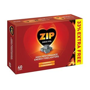 Zip Pack of 40 Firelighters - 596452