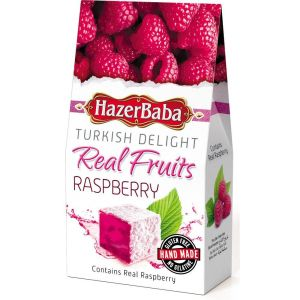 Hazer Baba 100g Raspberry Turkish Delight