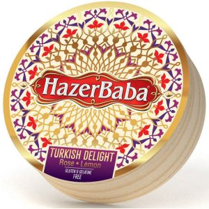 Hazer Baba 454g Rose & Lemon Turkish Delight