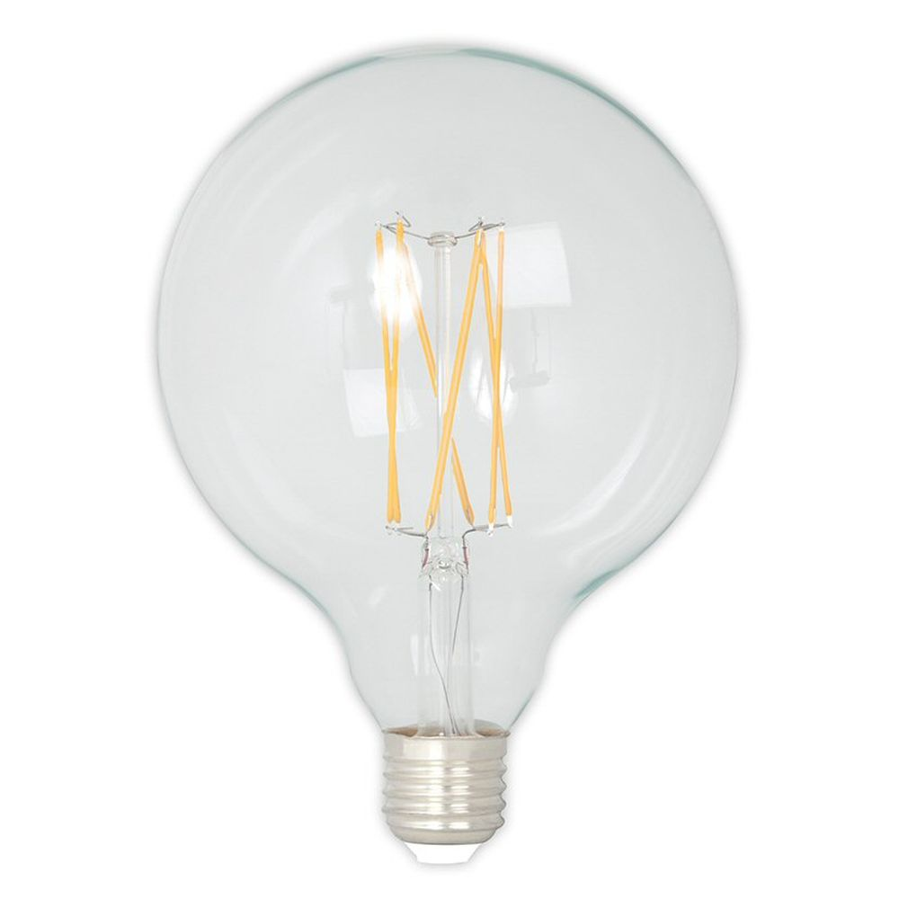 Calex E27 LED Glass Long Filament Globe Bulb