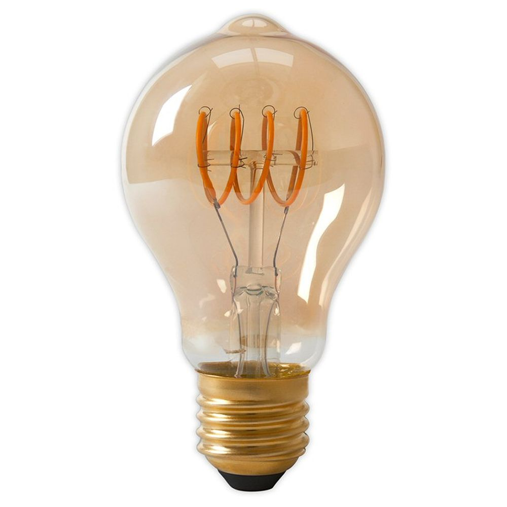 Calex E27 Rustic LED Full Glass Flex Filament GLS Bulb