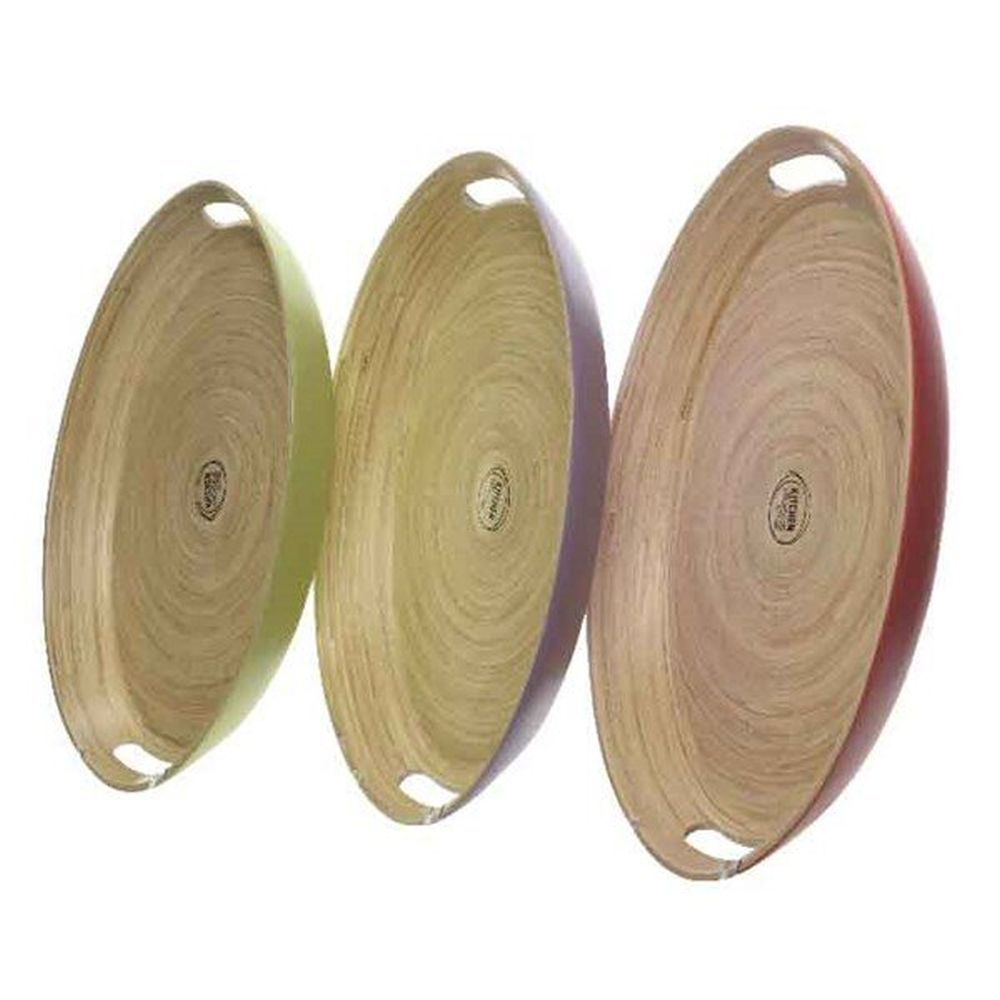 Kaemingk Bamb Oval Tray (Choice of 3) - 838500