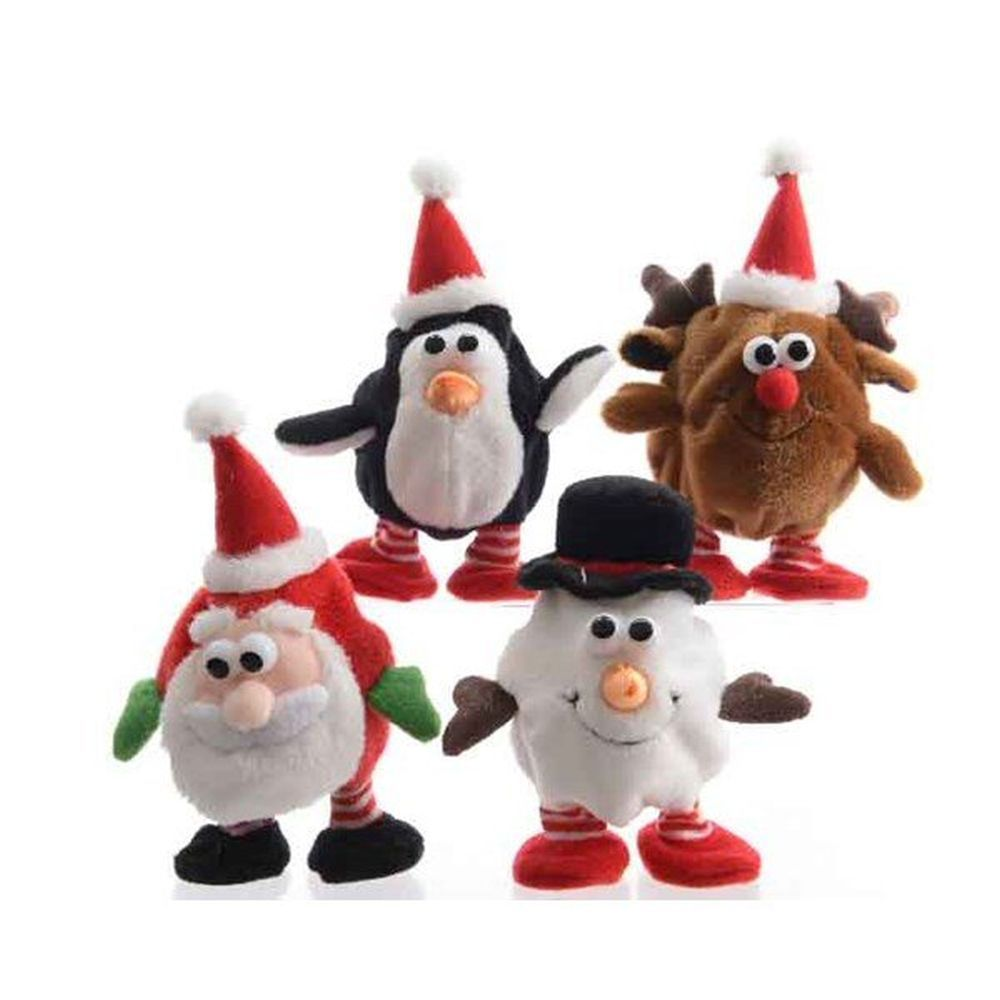 Kaemingk 13cm Repeating Animated Christmas Figure (Choice of 4)