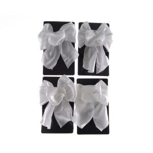 Kaemingk 15cm White Bow (Choice of 4) - 442282