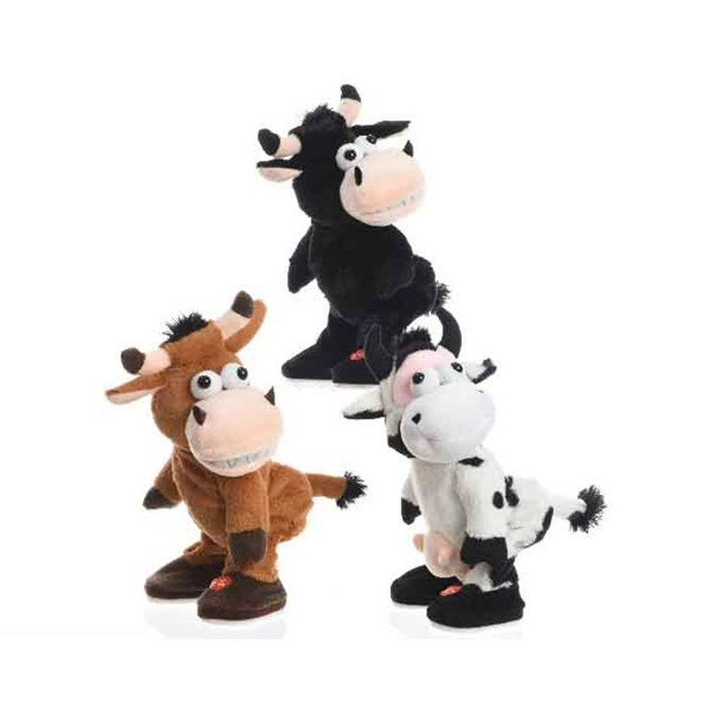 Kaemingk 28cm Animated Dancing Cow Figures (Choice of 3)