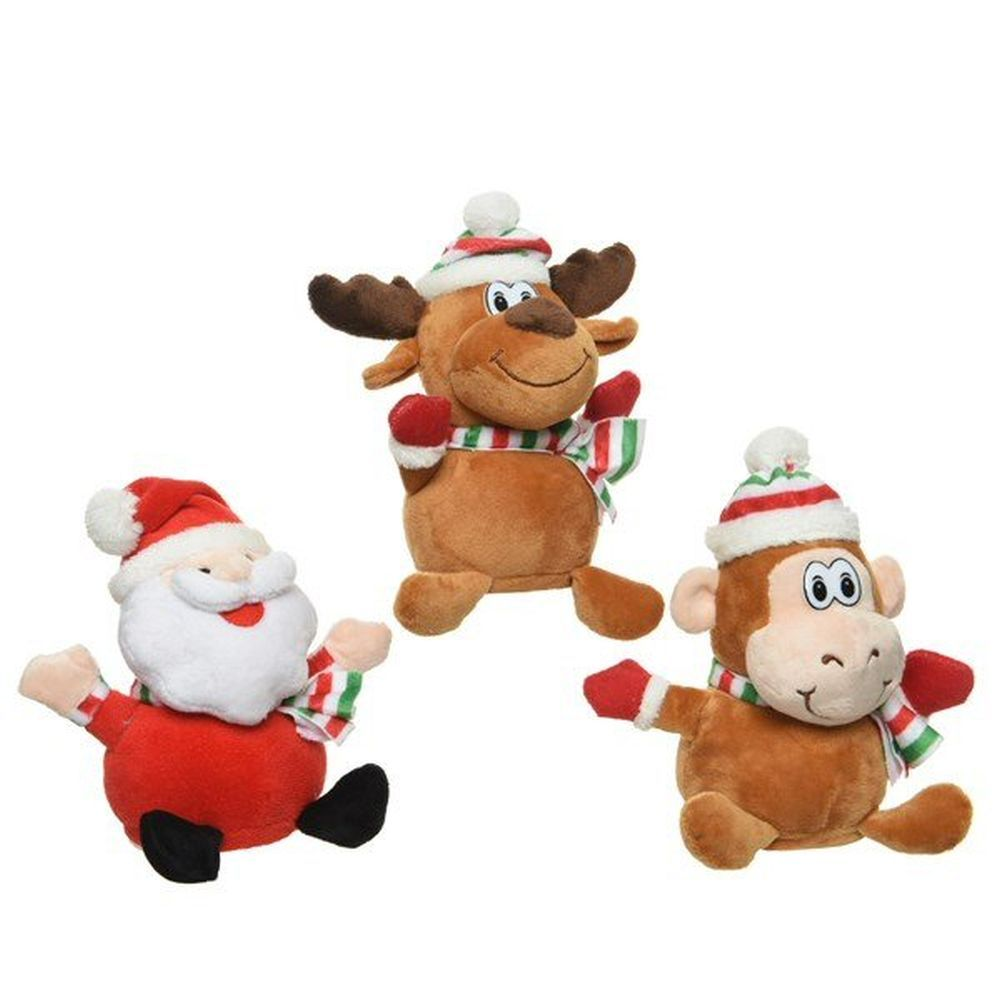 Kaemingk Plush Repeating Christmas Figure (Choice of 3)