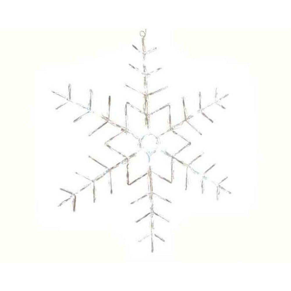 Lumineo 50cm Cool White LED Snowflake