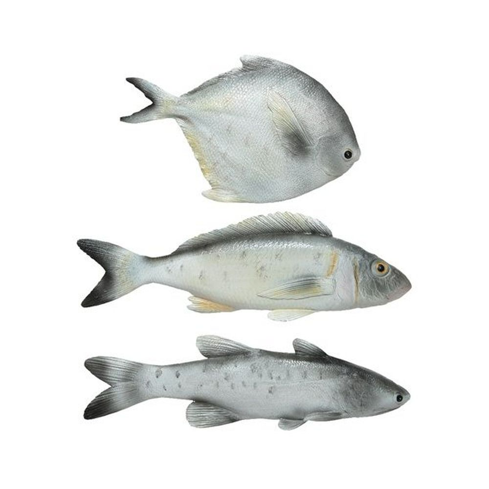 Kaemingk Grey Poly Fish (Choice of 3)