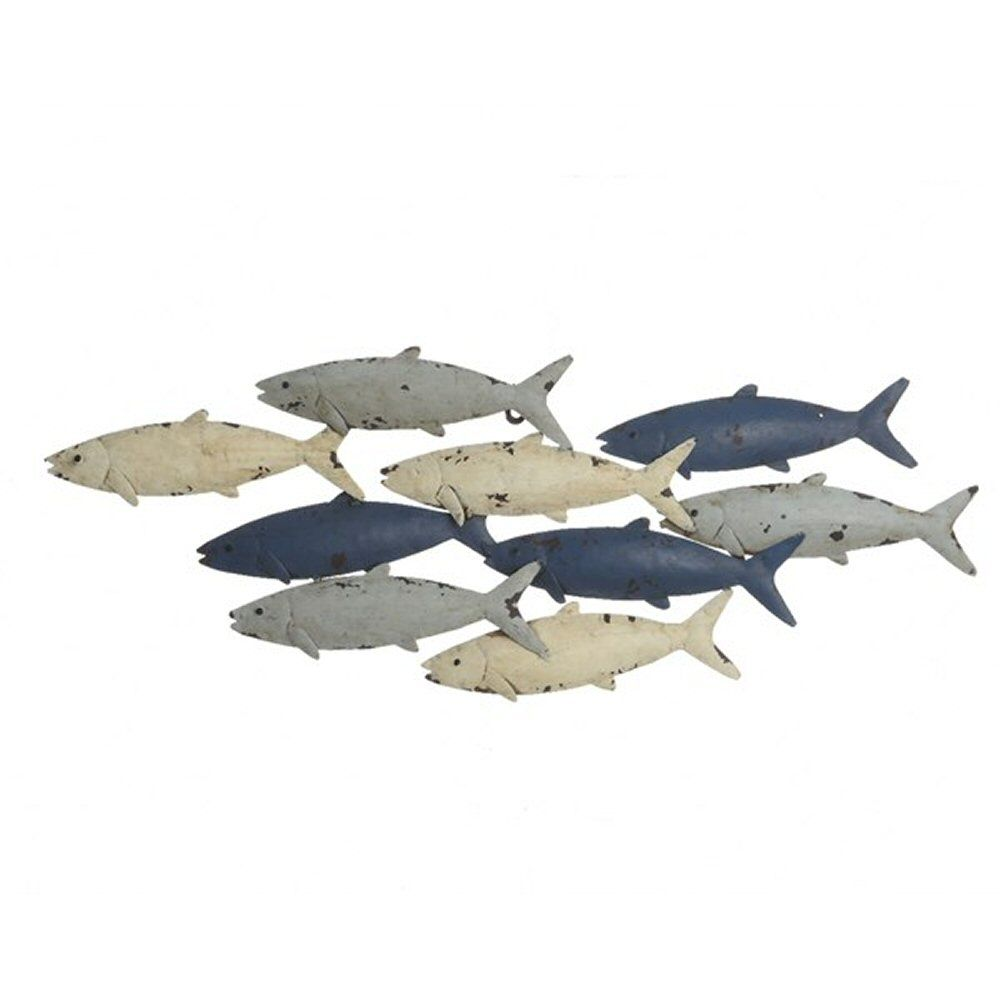 Kaemingk 70cm Fish Outdoor Wall Art
