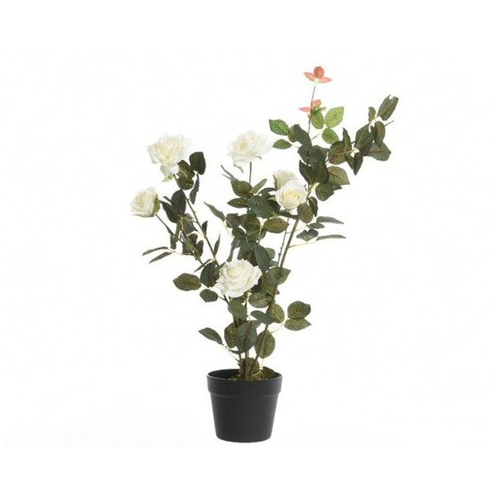 Kaemingk 80cm Artificial Rose Bush