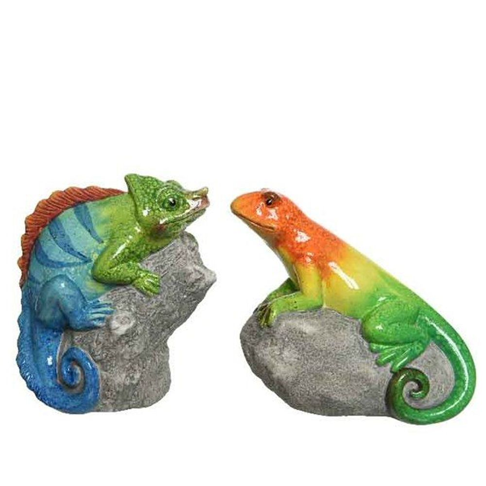 Kaemingk Ceramic Lizard or Chameleon Ornament